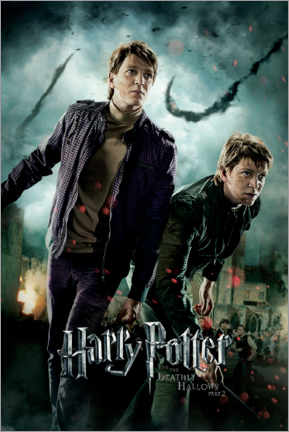 Premiumposter  The Deathly Hallows II - Fred & George