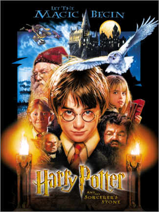 Canvastavla  Harry Potter and the Sorcerer's Stone