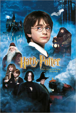 Canvastavla  Harry Potter and the Philosopher's Stone