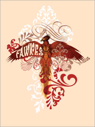 Premiumposter  Harry Potter - Fawkes