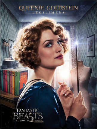 Aluminiumtavla  Fantastic Beasts and Where to Find Them - Queenie Goldstein