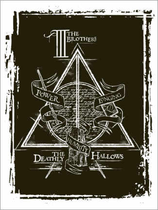 Premiumposter  Peverell family - The Deathly Hallows