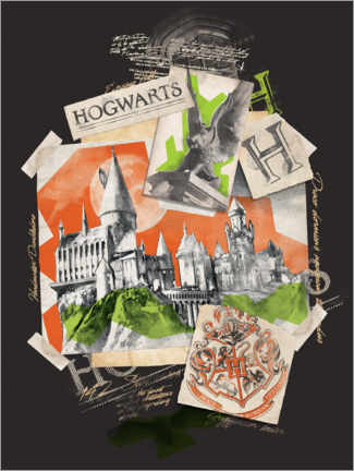 Premiumposter  Hogwarts School of Witchcraft and Wizardry