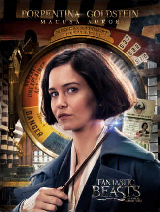 Galleritryck  Fantastic Beasts and Where to Find Them - Porpentina Goldstein
