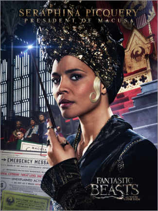 PVC-tavla  Fantastic Beasts and Where to Find Them - Seraphina Picquery