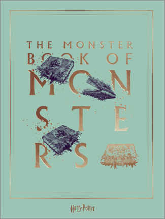 Premiumposter  Harry Potter - The Book of Monsters