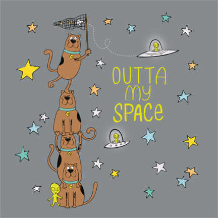 Premiumposter  Scooby - Outta my space