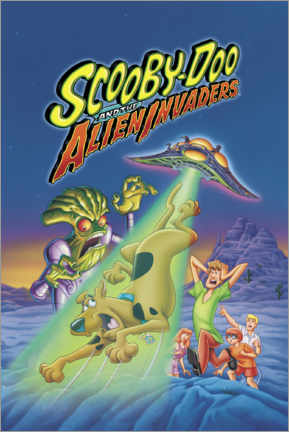 Premiumposter  Scooby-Doo And The Alien Invaders