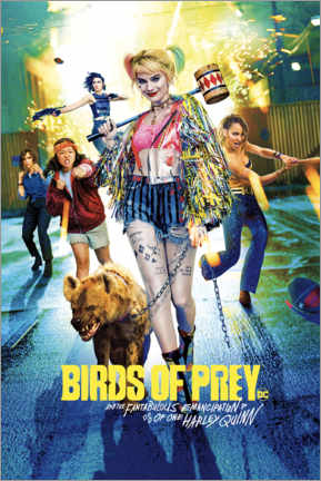 Premiumposter  Harley Quinn - Birds of Prey