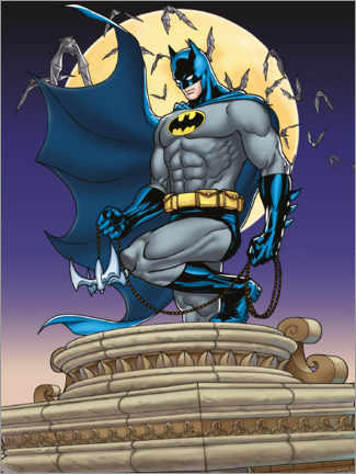 Canvastavla  Batman Moonlight