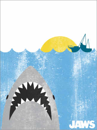 Premiumposter  Jaws - Kids Art