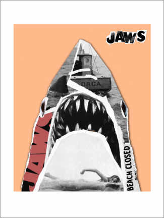 Premiumposter  Jaws - Pop Art