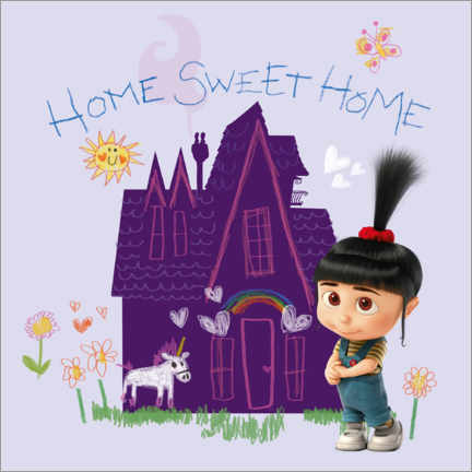Premiumposter  Agnes - Home sweet home