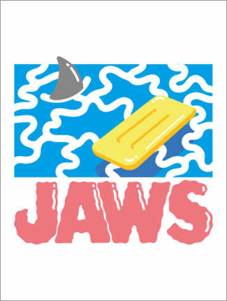 Premiumposter  Jaws Hyperbeach
