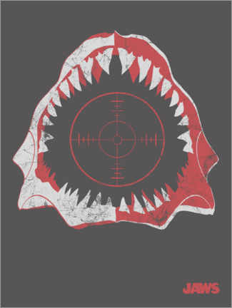 Premiumposter  Jaws - crosshair