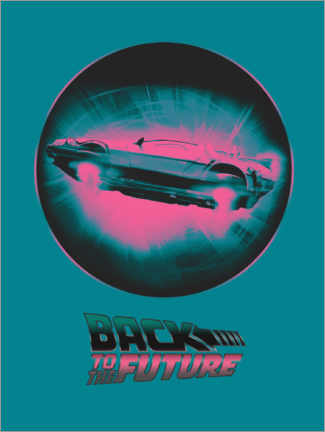 Premiumposter  BTTF time travel