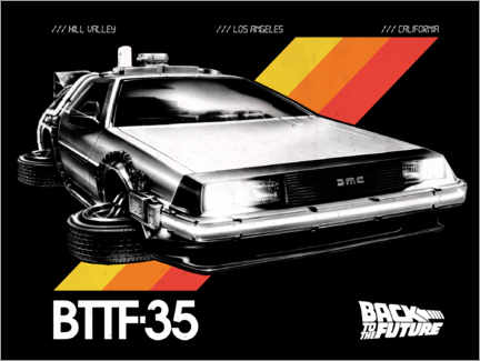 Premiumposter  DeLorean VHS II