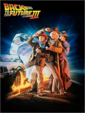 Premiumposter  Back to the future III