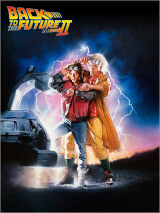 Premiumposter  Back to the future II