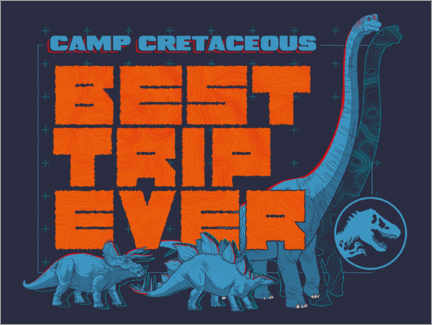 Canvastavla  Camp Cretaceous - Best trip ever