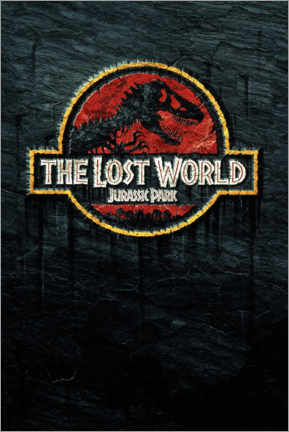 Självhäftande poster  The Lost World - Jurassic Park