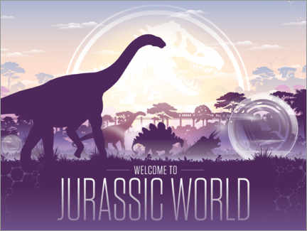 Premiumposter  Welcome to Jurassic World
