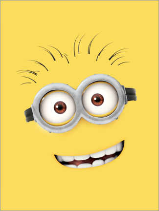 Premiumposter  Silly Minion Face