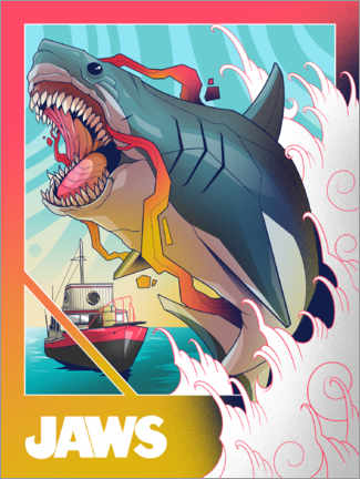 Premiumposter  Jaws - Comic