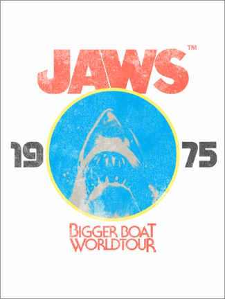 Premiumposter  Bigger Boat World Tour