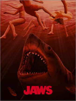 Premiumposter  Jaws - Horror vision I