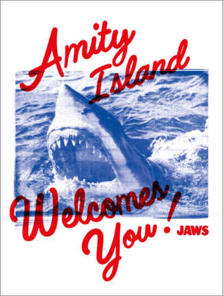 Premiumposter  Welcome to Amity Island!