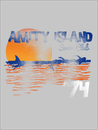 Premiumposter  Amity Island Swim Club