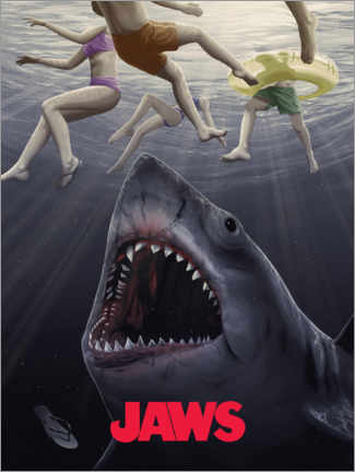 Premiumposter  Jaws - Horror vision II