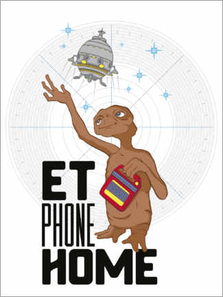 Premiumposter  E.T. - Phone Home