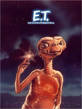 Canvastavla  E.T. the Extra-Terrestrial