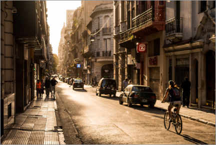 Premiumposter  Streets of Buenos Aires - Marcel Gross