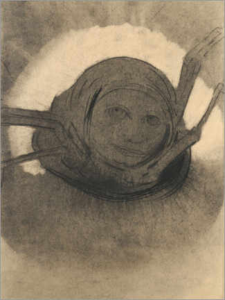 Premiumposter  The spider - Odilon Redon