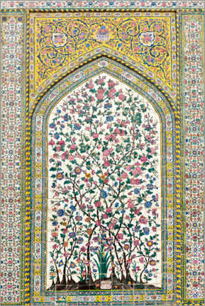 Premiumposter  Floral pattern, Wakil Mosque - Stefan Auth
