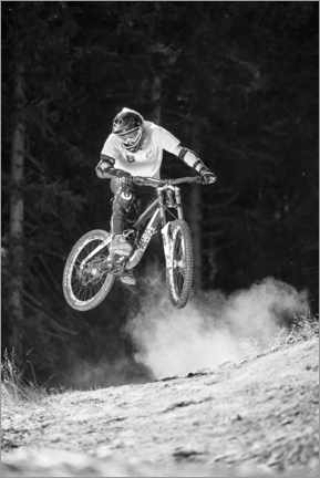 Canvastavla  Mountain bikers - Christian Vorhofer