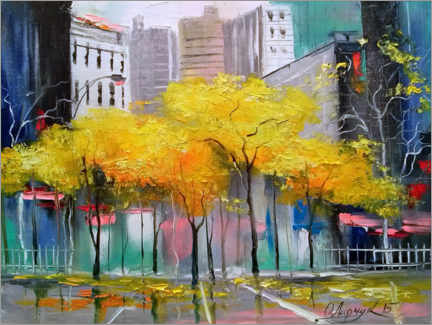 Canvastavla  Autumn in Chicago - Olha Darchuk