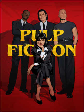 Premiumposter Pulp Fiction Gang
