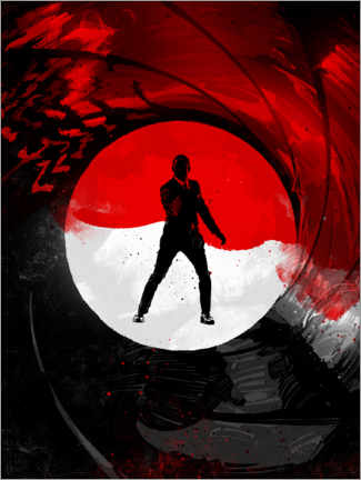 Premiumposter James Bond