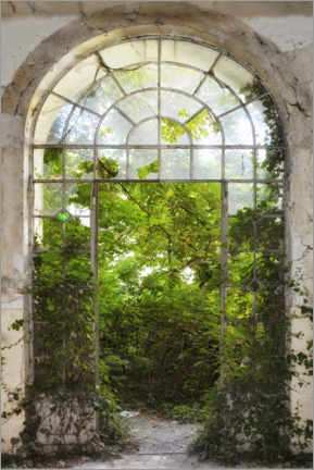 Premiumposter  View into the green - Claudia Moeckel