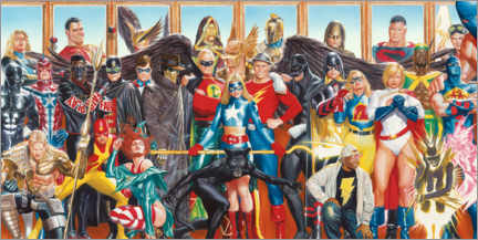 Galleritryck  Justice League - Together
