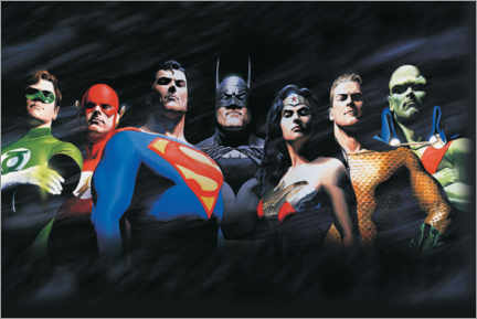Premiumposter  Justice League - The Original Seven