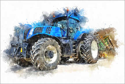 Premiumposter  Tractor IV - Peter Roder