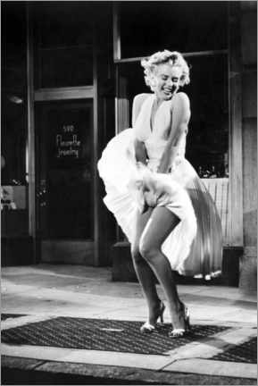Akrylglastavla  Marilyn - The Seven Year Itch iconic pose - Celebrity Collection