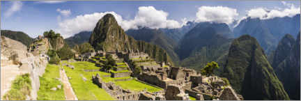 Premiumposter  Ancient Inca Ruins of Machu Picchu in the Andes Mountains of Peru - Matthew Williams-Ellis