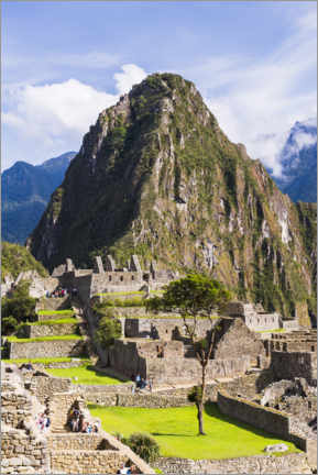 Premiumposter  Machu Picchu and Huayna Picchu in Peru - Matthew Williams-Ellis