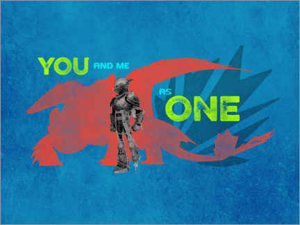 Premiumposter  You and me as one